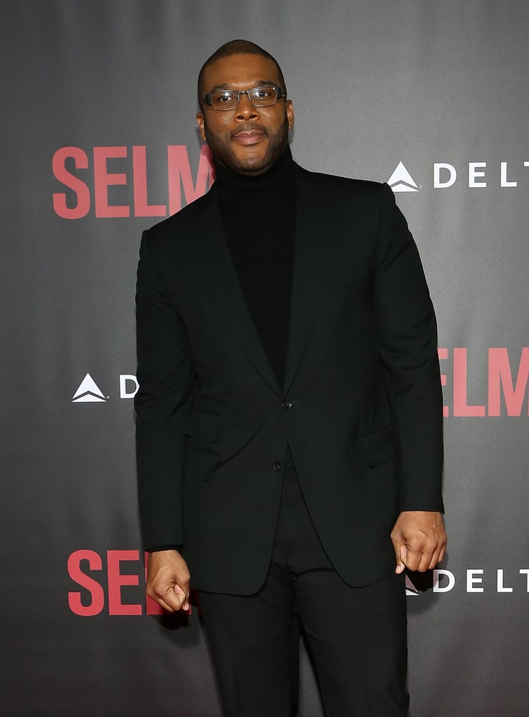 """""""Tyler Perry was so good in Gone Girl that he was asked to write a sequel called Girl I Thought You Were Gone."""" — Tina, on Tyler Perry's empire of films"""