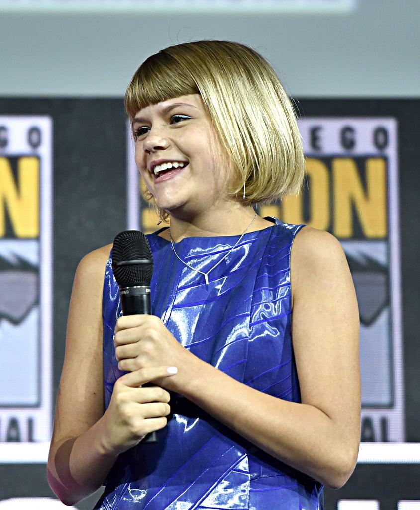 Pictured: Lia McHugh at San Diego Comic-Con.