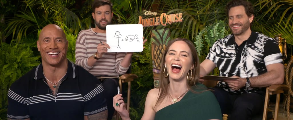 Dwayne Johnson, Emily Blunt, and Jungle Cruise Cast Video
