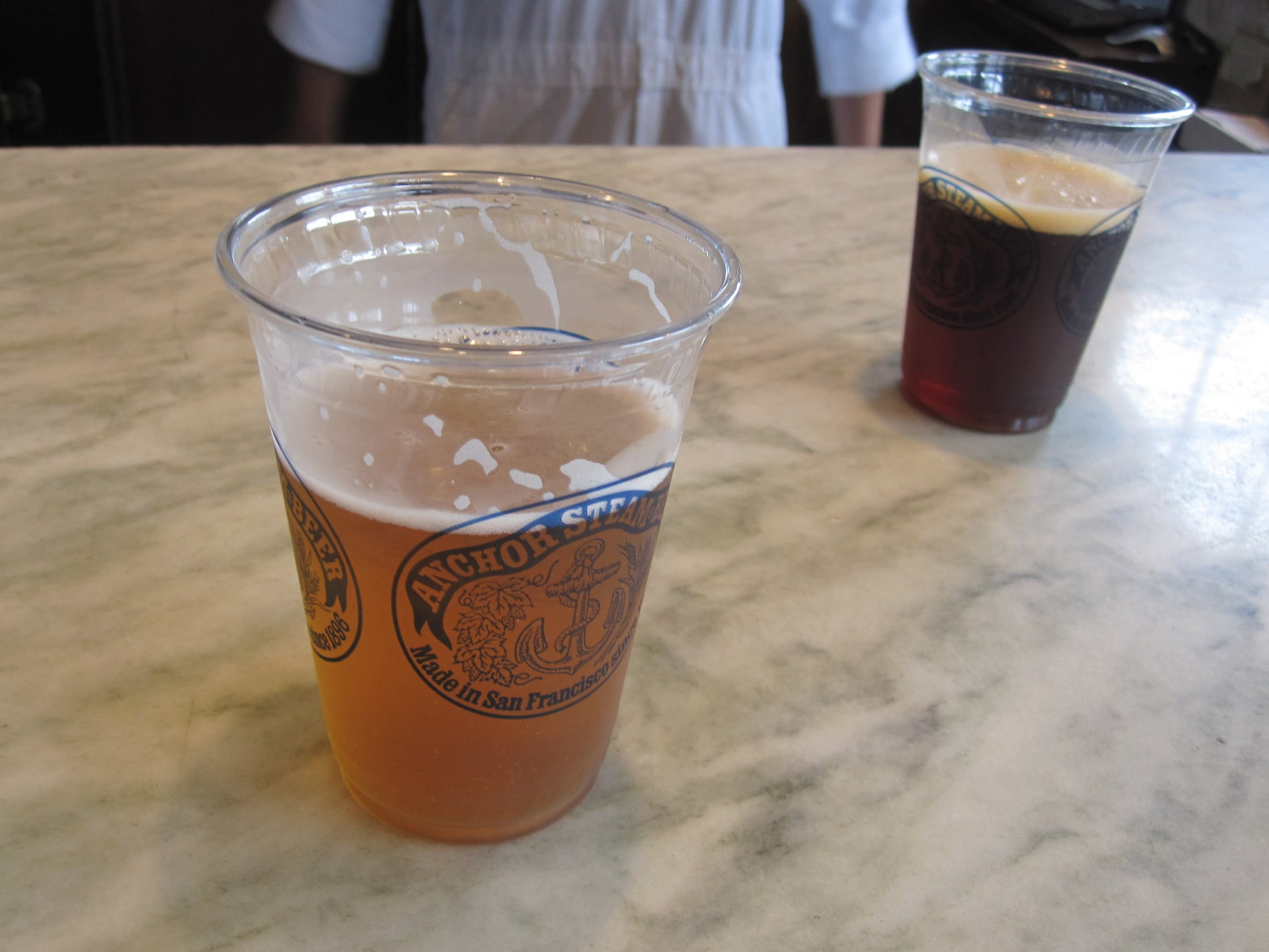 I sampled their Summer beer!
