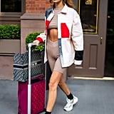 Bella Hadid's Travel Look