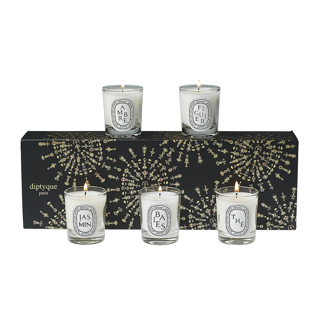 We're kind of crazy about candles, so Diptyque's 40 Years of Creation Gift Set ($75) would be more than welcome under our tree.