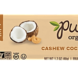 Pure Organic Cashew Coconut Bar