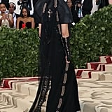 Bella Hadid Wore a 10-Pound Veil to the Met Gala