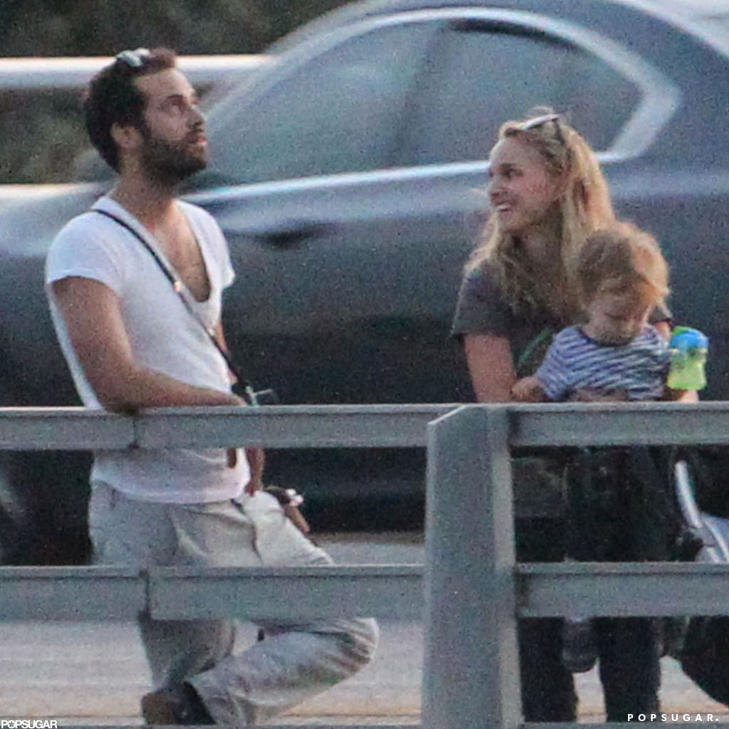 Natalie Portman and her family checked out the Congress Bridge bats in Texas.