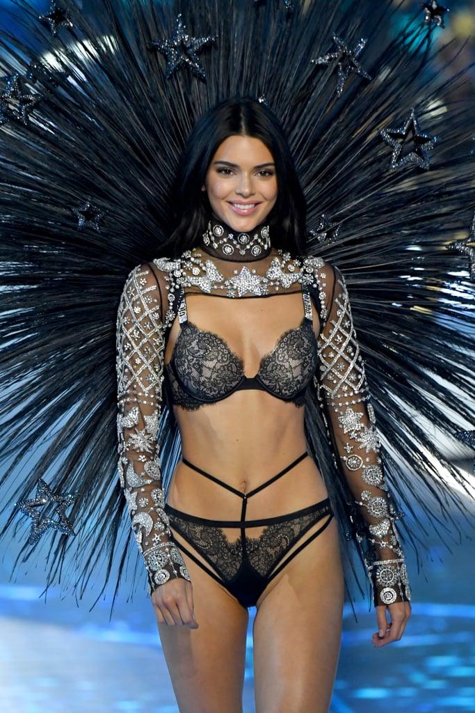 Kendall Jenner Victoria S Secret Fashion Show 2018 Popsugar