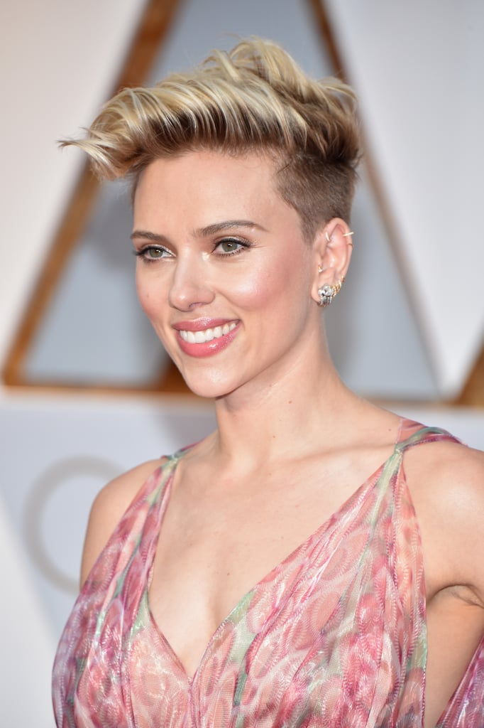 Celebrity Short Pixie Haircuts At 2017 Oscars Popsugar Celebrity