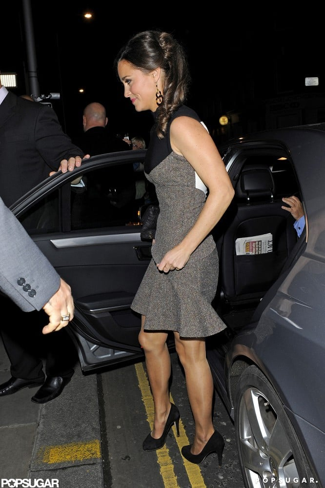 Pippa Middleton at a Book Party For Celebrate Pictures.