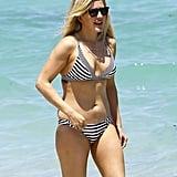 Ellie Goulding showed off her bikini body in Miami in April 2016.