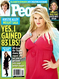 How to Go Vegetarian and Avoid Gaining Weight Like Kirstie Alley