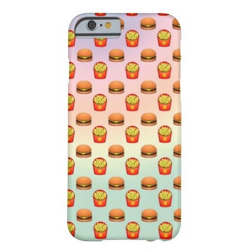 Emoji Burger and Fries Phone Case ($40)