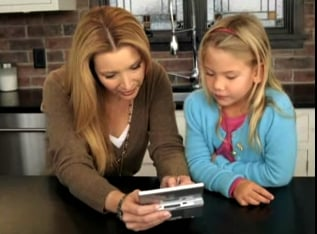 Lisa Kudrow Uses Personal Trainer: Cooking on Her DS