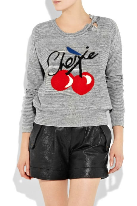 Sonia by Sonia Rykiel Cherie Knitted Sweater ($360)