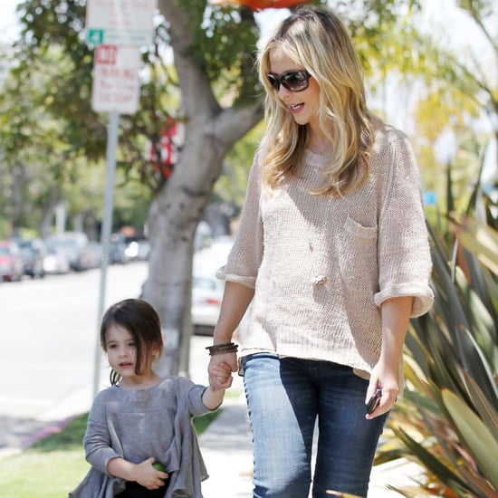 Pregnant Sarah Michelle Gellar Pictures With Charlotte