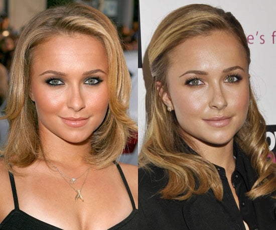 Which length better suits Hayden Panettiere?