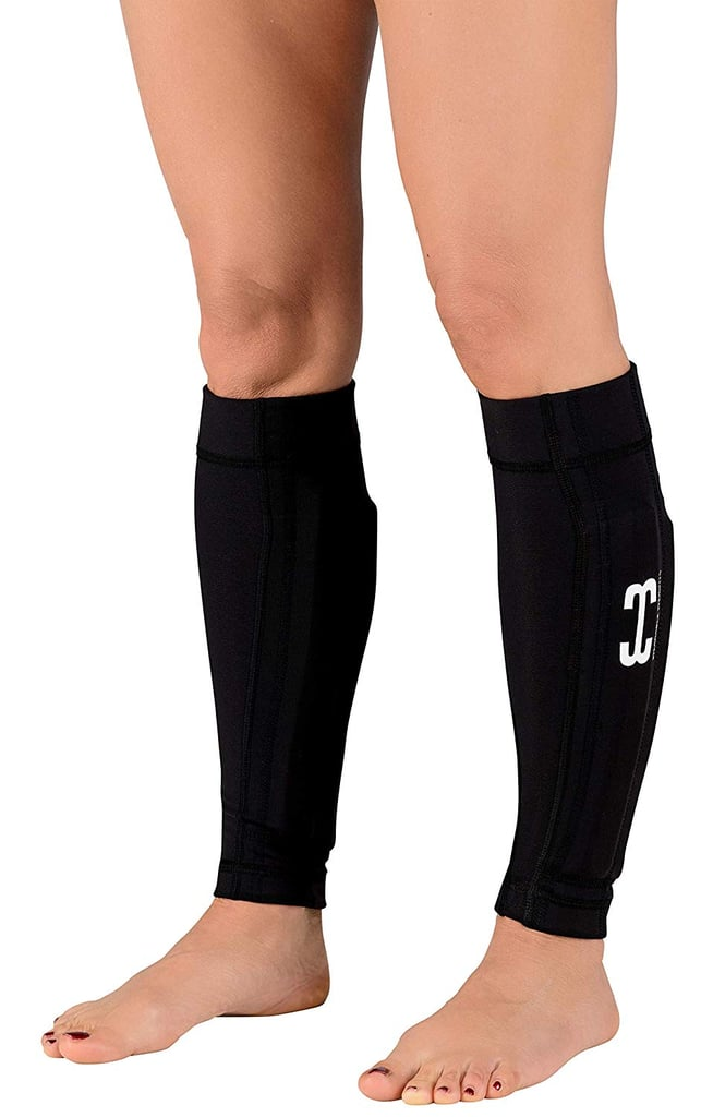 Wearable Weights Weighted Black Workout Compression Leg Sleeves