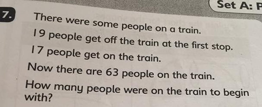6- and 7-Year-Olds Couldn't Solve This Math Test Question, and We're Not Surprised