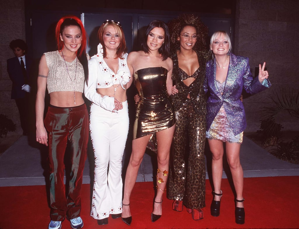 The Spice Girls attended the eighth annual Billboard Music Awards in December 1997.