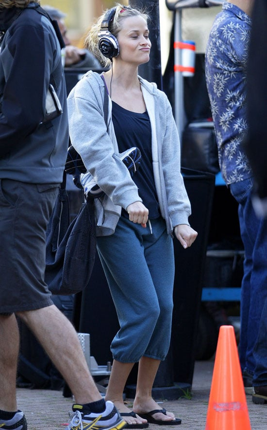 Pictures of Reese Witherspoon on Set