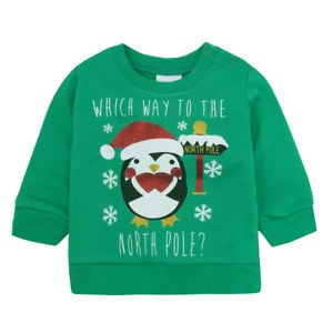 Which Way to the North Pole Sweater