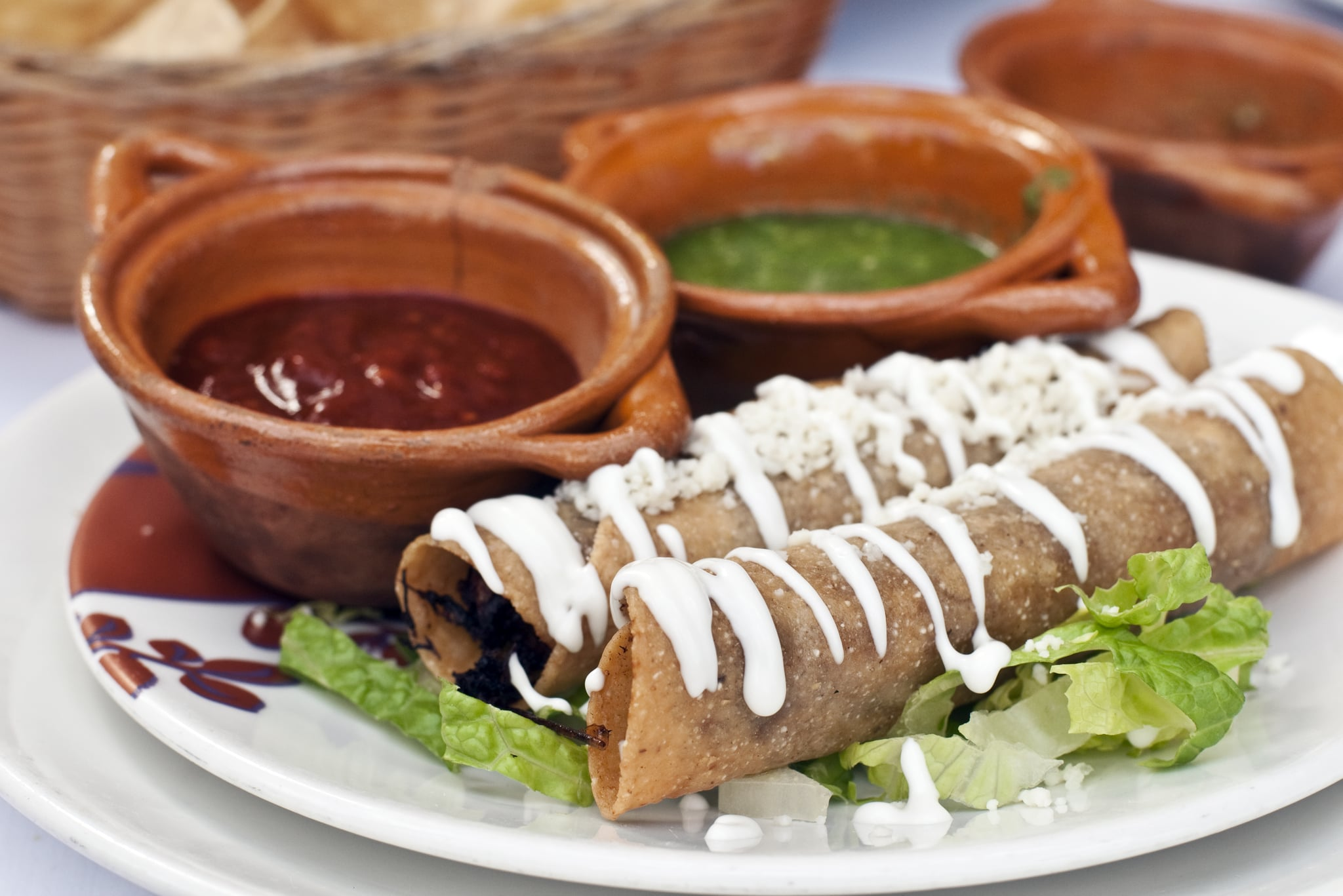 Are Flautas and Taquitos the Same Thing? Here's How to Spot the Differences