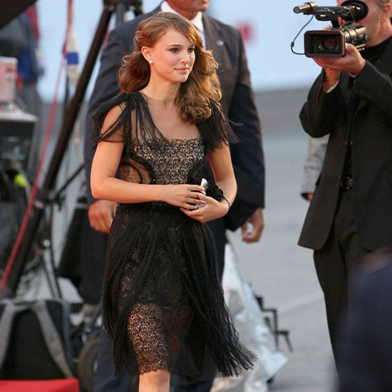 Natalie Portman got glam for the Venice Film Festival in 2008.
