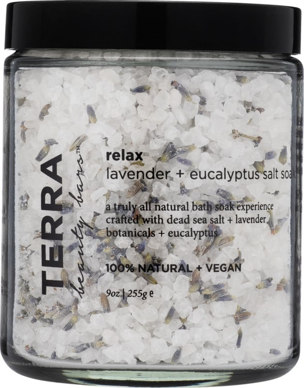 Terra Beauty Bars Relax Lavender + Eucalyptus Salt Soak