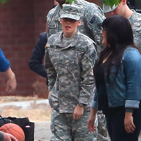 Kristen Stewart Set Pictures From Camp X-Ray