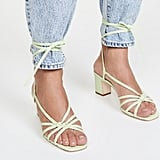 Loeffler Randall Libby Knotted Wrap Heel Sandals