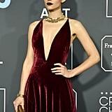 Emmy Rossum at Critics' Choice Awards