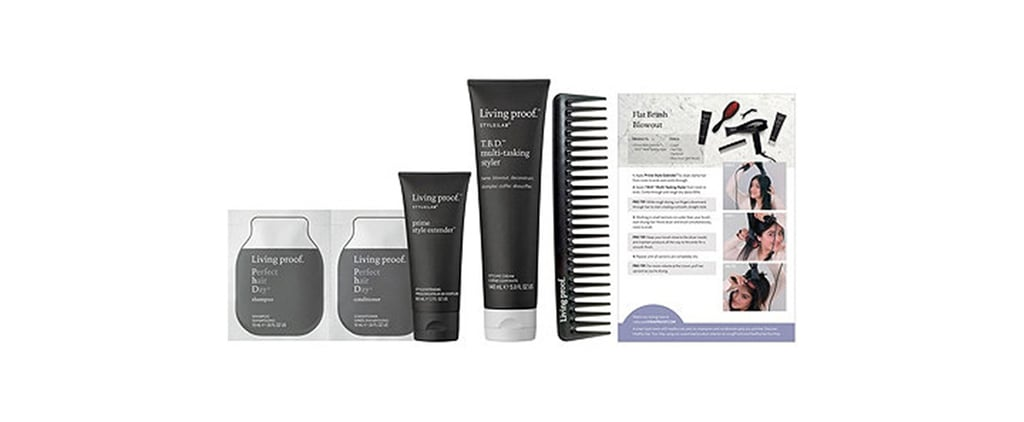 Living Proof Style Lab Flat Brush Blowout Kit Giveaway