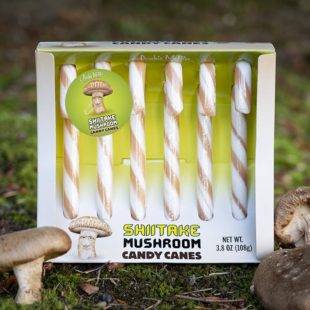 Mushroom-Flavoured Candy Canes Exist — Shop Them Here