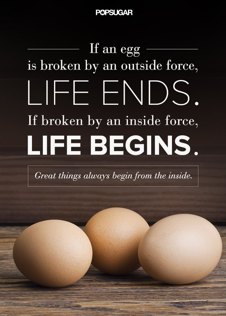 Great Things Always Begin From the Inside