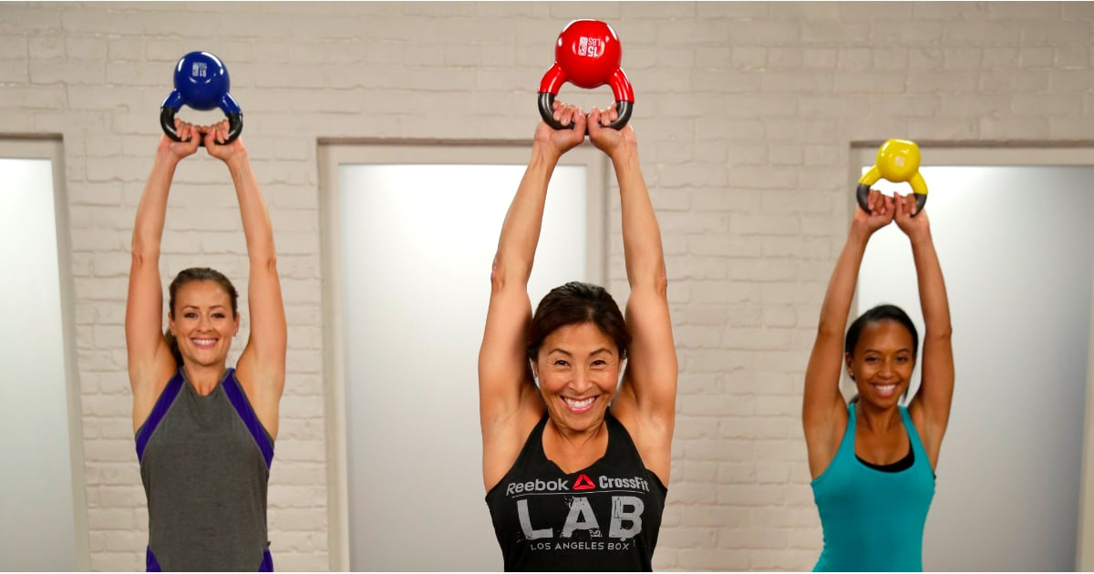 Abs Arms And Legs This 20 Minute Kettlebell Workout Targets It All
