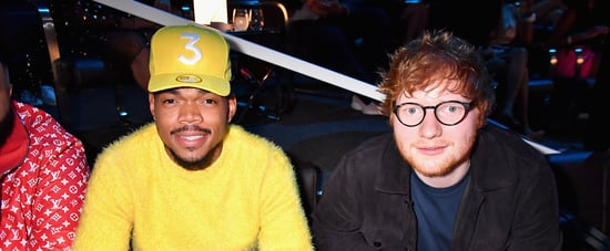 "Ed Sheeran, Chance The Rapper, and PnB Rock ""Cross Me"" Song"
