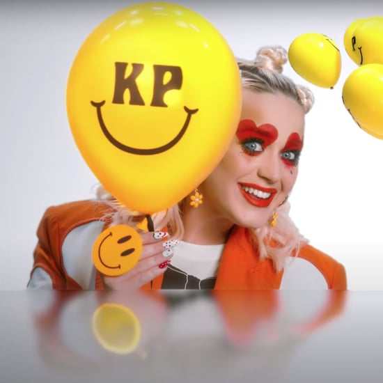 "See Katy Perry's Clown Nail Art in Her ""Smile"" Music Video"