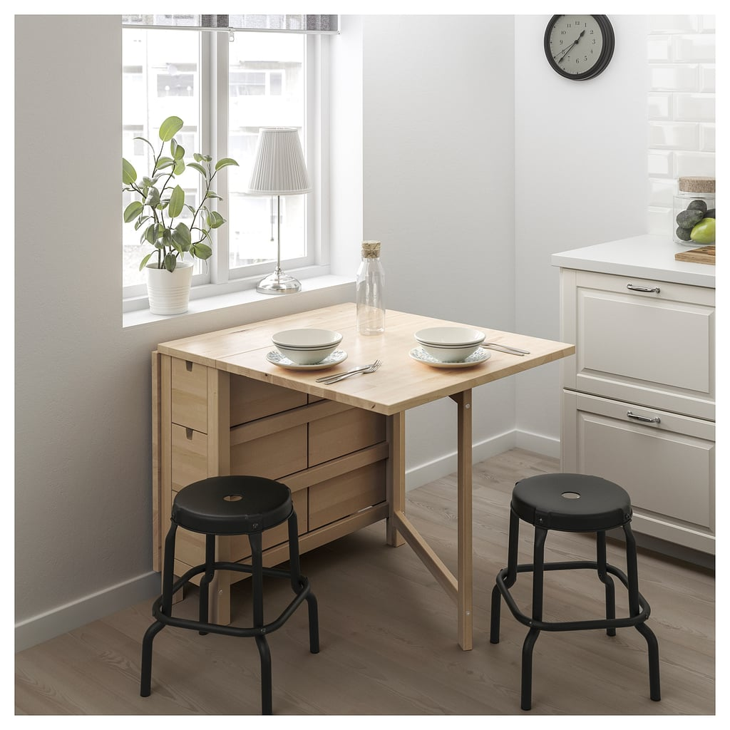 Norden Gateleg Table Pots And Pans Cramping Your Style Ikea Has The Small Space Solutions Kitchen Needs Popsugar Home Photo 9
