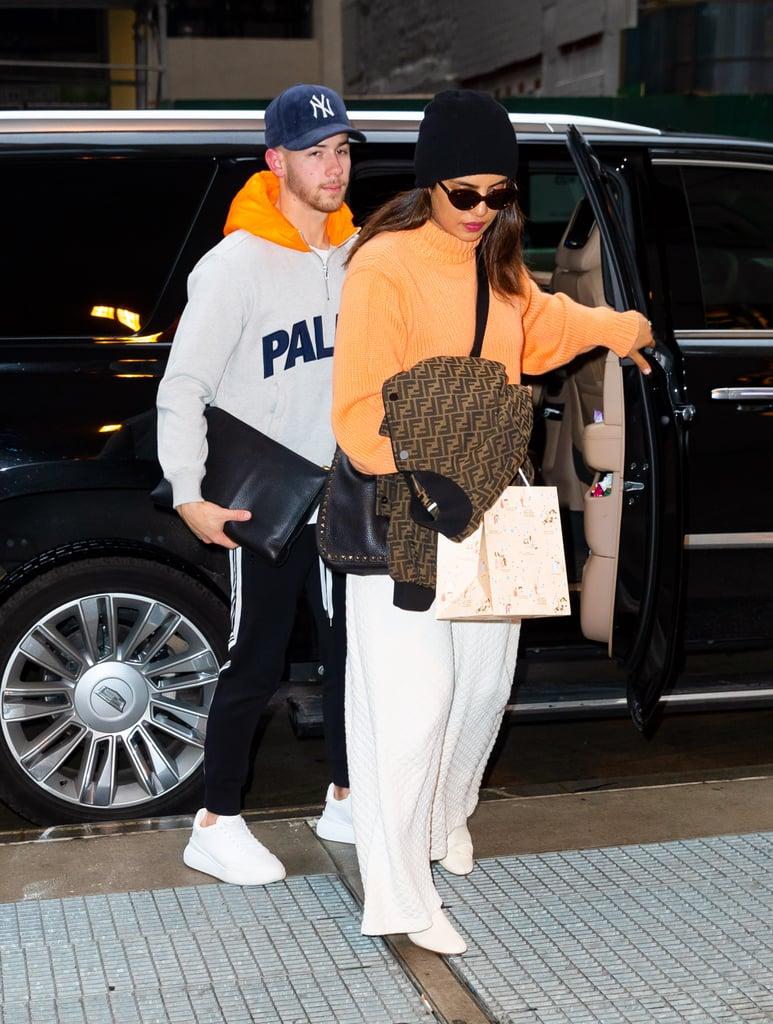 Priyanka Chopra and Nick Jonas in New York City