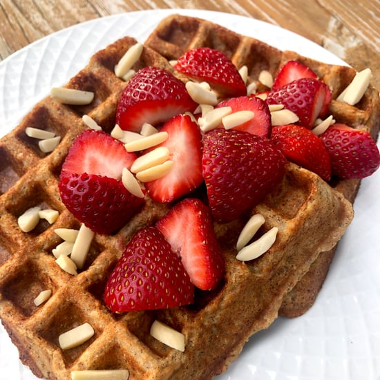 Vegan Whole Wheat Protein Waffles