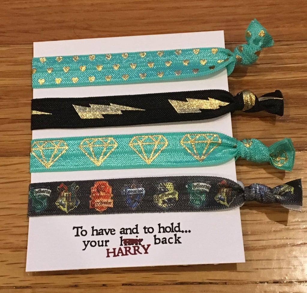 Custom Harry Potter Hair Ties