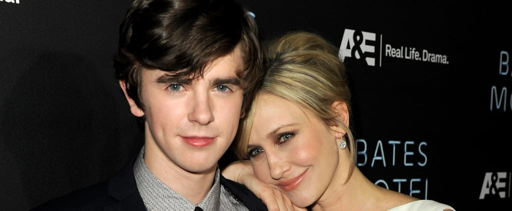 Freddie Highmore and Vera Farmiga Pictures