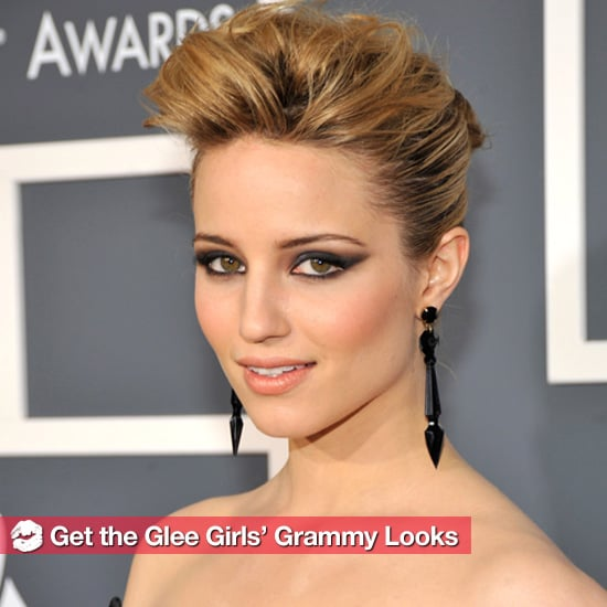 Get the Glee Stars' Gorgeous Grammys Looks 2011-02-14 02:19:39