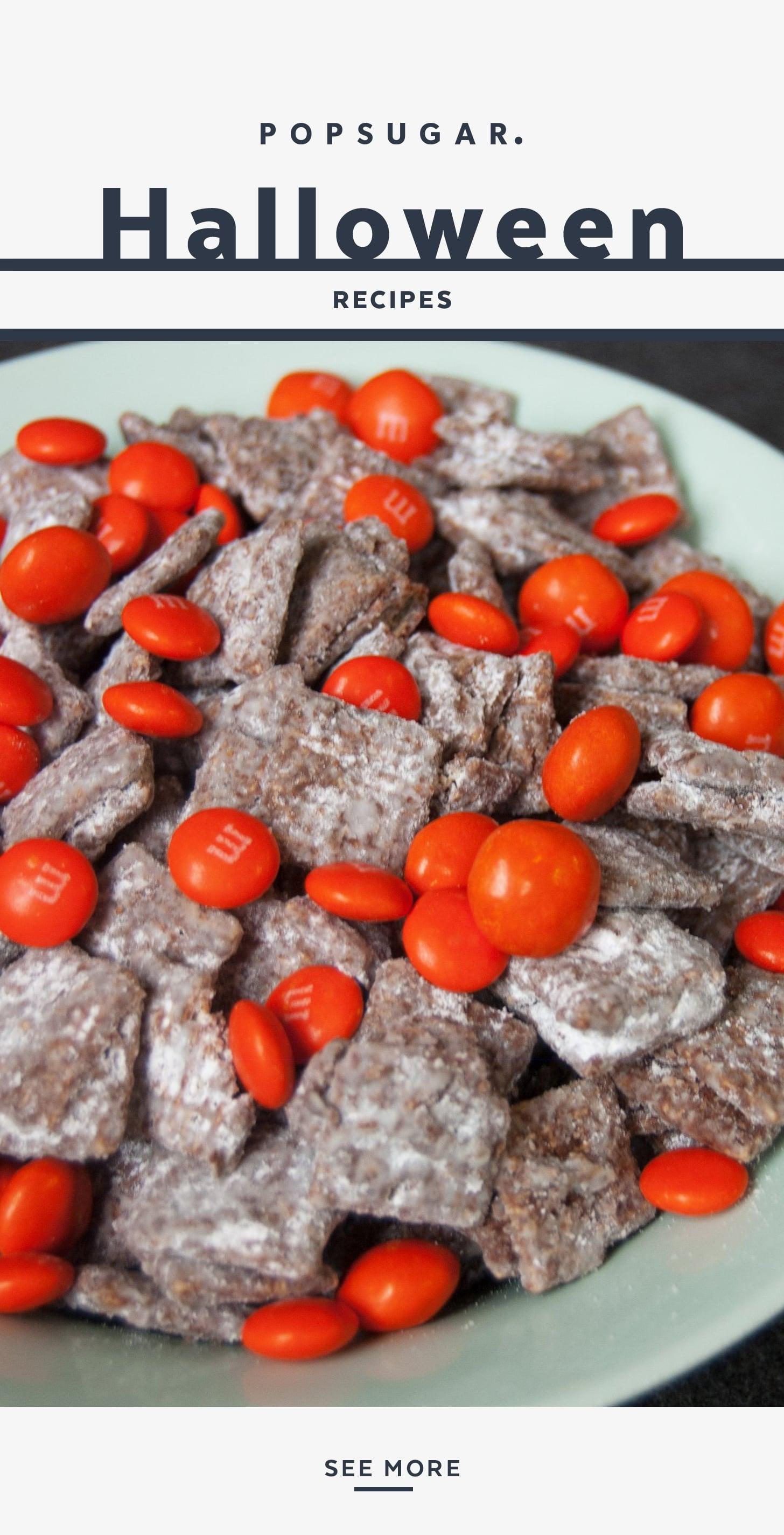 Halloween Puppy Chow Recipe Popsugar Food
