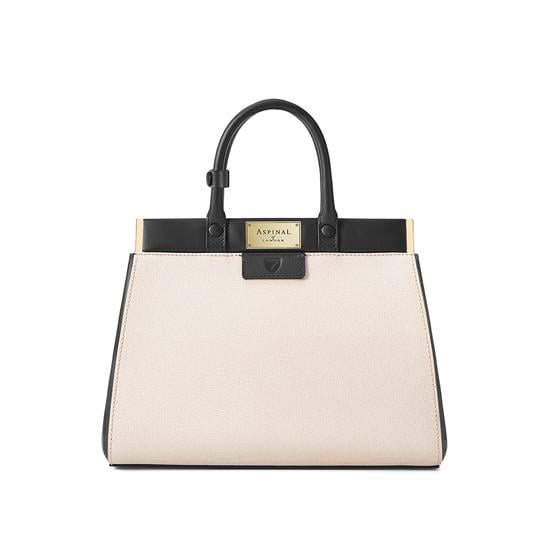 The Dockery Snap Bag Small in Monochrome Saffiano ($870)