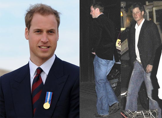 27/4/2009 Prince William and Prince Harry