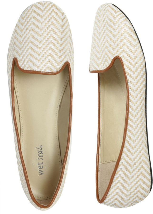 Sleek Raffia Loafers