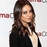 Mila Kunis made an appearance at CinemaCon in Las Vegas.