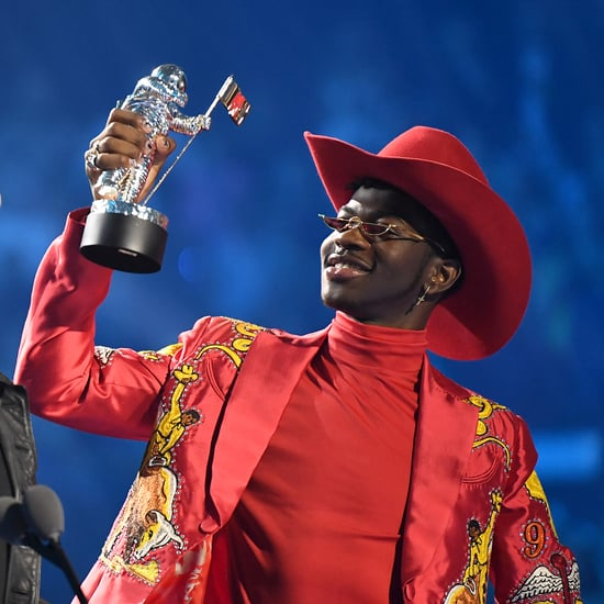 Lil Nas X Takes Out Scroll During MTV VMAs Speech 2019
