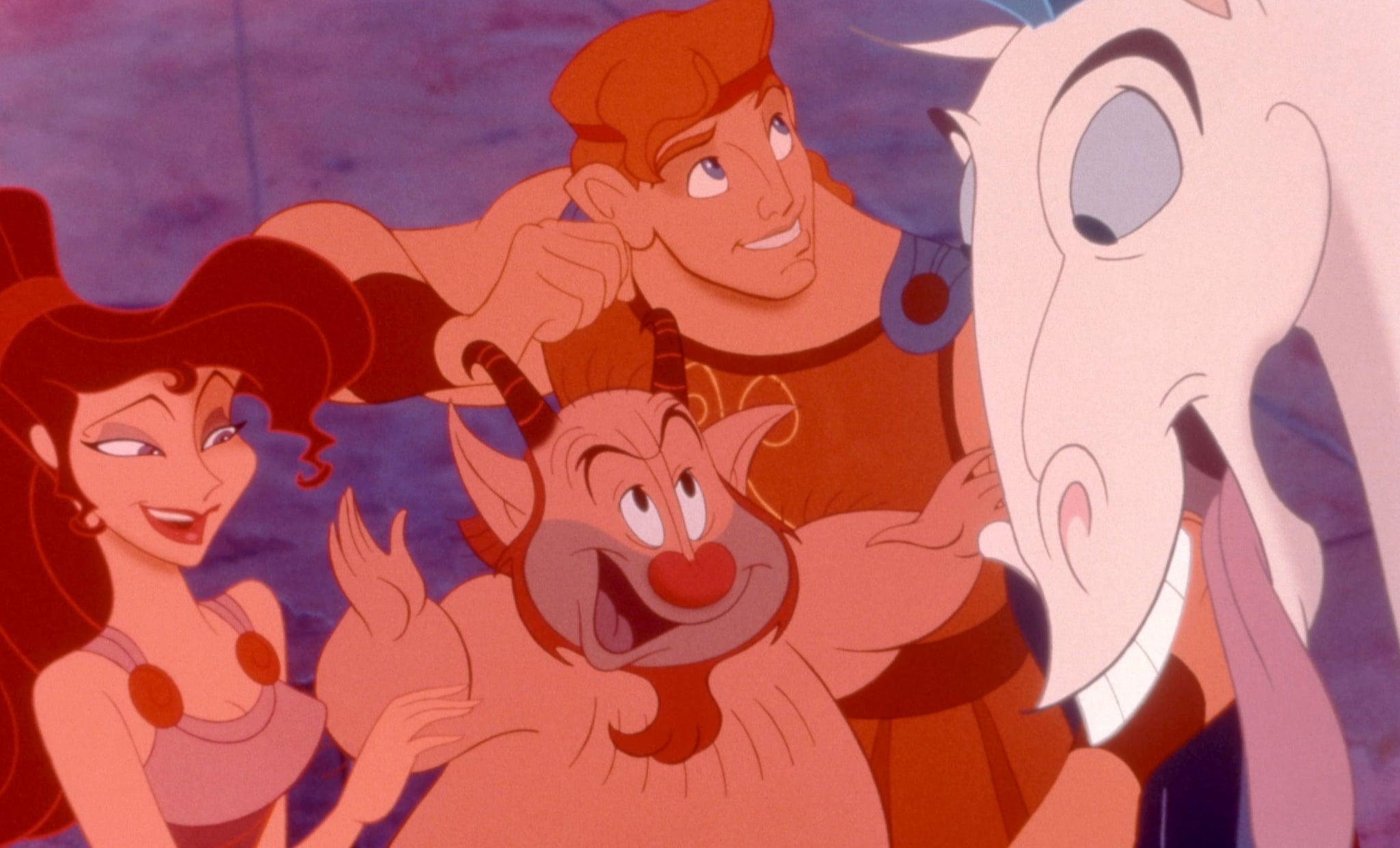 HERCULES, Megara, Hercules, Philoctetes, Pegasus, 1997, (c)Buena Vista Pictures/courtesy Everett Collection