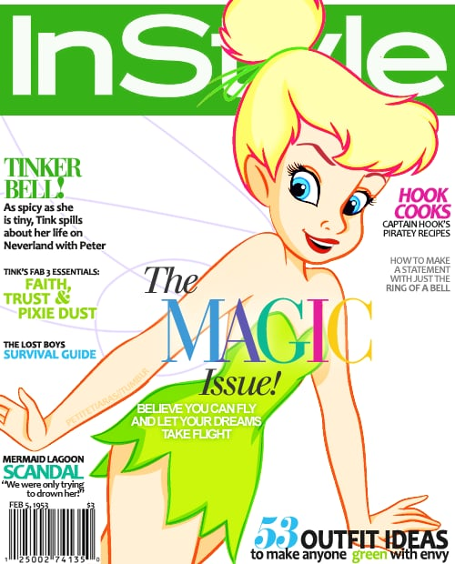 Magazine Cover Tinkerbell
